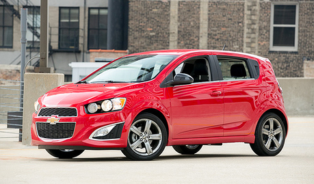 Pinkie Pie would drive a Chevrolet Sonic RS. What would Big Mac have?