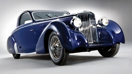 Octavia would drive a 1938 1938 Jaguar SS Coupe. What would Berry coup de poing have?