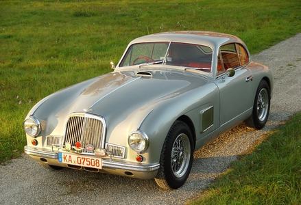 Rarity would drive a 1953 Aston Martin DB2. What would pelangi, rainbow Dash have?