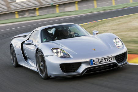 Princess Luna would drive a 2015 Porsche 918 Spyder. what would Featherweight have?