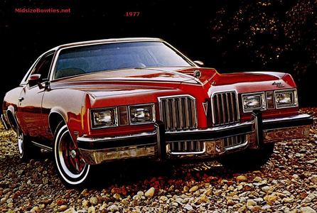 Featherweight would drive a 1977 Pontiac Grand Prix. What would Pipsqueak have?