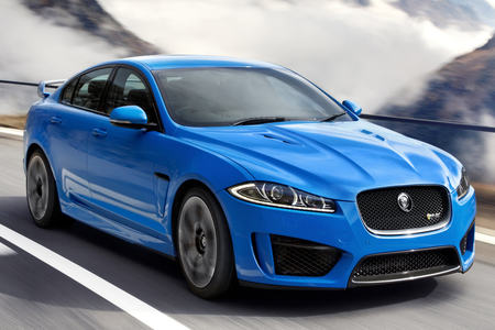 Colgate would drive a 2014 Jaguar XF. What would Flash Sentry have?
