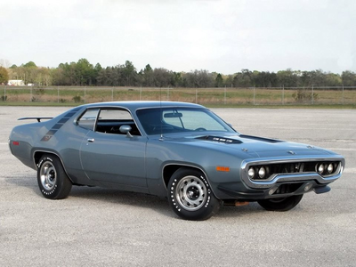 Shining Armor would drive a 1971 Plymouth Road Runner. What would Soarin' have?