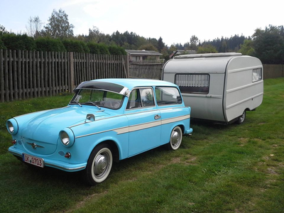 Rainbow's mom would drive a 1958 Trabant P1. What would Night Light have?