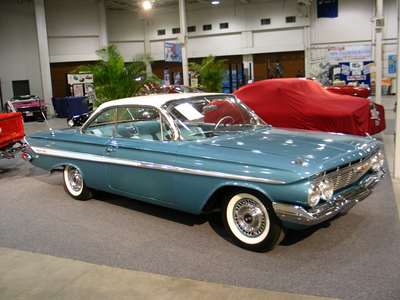 nuage Kicker would drive a 1961 Chevrolet Impala. What would Choud Chaser have?