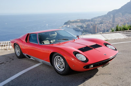 구름, 클라우드 Chaser would drive a 1970 Lamborghini Miura. what would Flitter have?