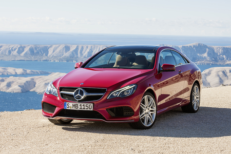 Sonata dusk would drive a 2014 Mercedes E-Class Coupe. what would Adagio Dazzle have?