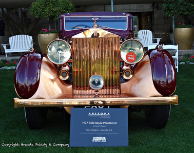 Diamond Tiara would have a 1937 Rolls Royce Phantom II. What would Silverspoon have?