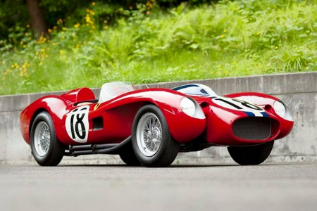 Twist would drive a 1960 Ferrari 250FR What would Dinky have?