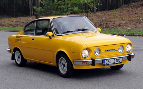Snails would drive a 1967 Skoda 110S. What would Snips have?