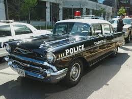 Discord would drive a 1957 Chevrolet Bel Air police car. What would Fluttershy have?