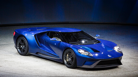 Hmmm... how about something new instead. Like this 2016 Ford GT that's what 무지개, 레인 보우 Dash would drive.
