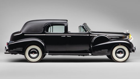 Fancy Pants would drive a 1938 Cadillac Sixteen Town Car. What would Fleur De Lis have?