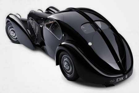 Nightmare Rarity would drive a 1940 Bugatti Type 57SC. What would Tirek have?