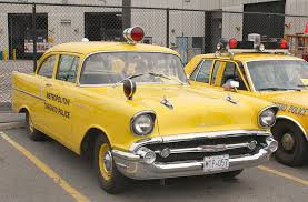 Snails would drive a 1957 Chevrolet Two-Ten Police car. What would Snips have?