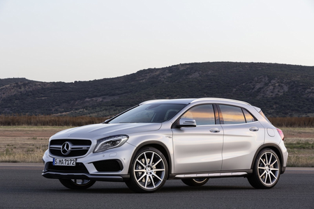 Rairty would drive a 2015 Mercedes GLA 45 AMG.. What would Pinkie Pie have?