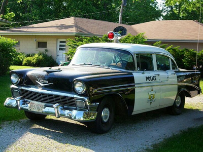Pinkie Pie would drive a 1956 Chevrolet Police car. What would upinde wa mvua Dash have?
