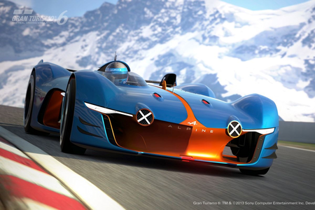 虹 Dash would have a 2015 Renault Alpine GT Vision Concept. What would Twilight have?