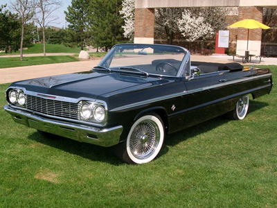 Spitfire would have a 1964 Chevrolet Impala. What would Soarin have?