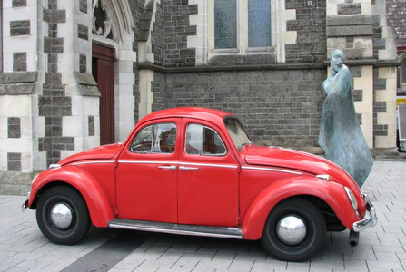 Pinkie Pie would drive this strange Volkswagen Beetle. What would Zecora have?