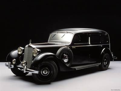 Nightmare Moon would drive a 1936 Mercedes 260D Pullman Limousine. What would King Sombra have?