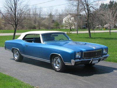 Flutterguy would have a 1971 Chevrolet Monte Carlo. What would Fluttershy have?