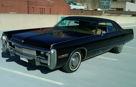 Twilight Sparkle would have a 1973 Chrysler Imperial. She smokes weed in it, and has done مزید then o