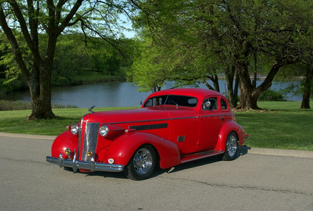 Silver Shill would have a 1937 Buick Custom hot rod. What would Silver Spoon have?