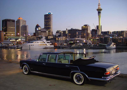 Diamond Tiara would have a 1965 Mercedes Pullman. What would Prim Hemline have?