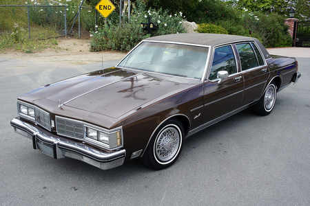 Roseluck would have a 1983 Oldsmobile Delta 88. What would Colgate have?