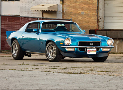 Colgate would drive a 1972 Chevrolet Camaro SS. What would Rarity have?