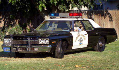 Fluttershy would have a 1975 Dodge Monaco Highway Patrol car. What would Twilight Sparkle have?