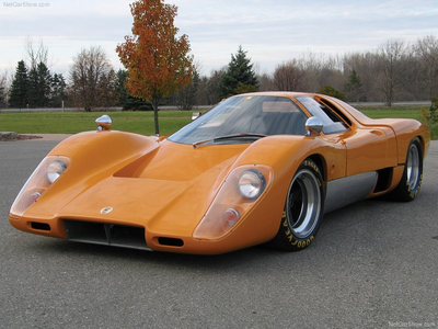 Lightning Dust would drive a 1969 McLaren M6GT. What would Fleetfoot have?