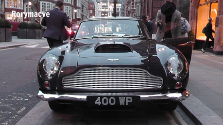 Fleetfoot would have an Aston Martin DB4. What would Soarin have?