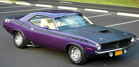 Twilight Sky would drive a 1970 Plymouth Hemi Cuda. What would Derpy have??