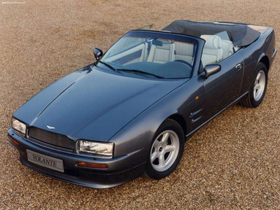 Twilight Sparkle would drive a 1990 Aston Martin Virage Volante. What would Night Glider have?