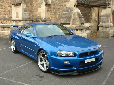 Vinyl Scratch would drive a 2000 Nissan Skyline R34. what would Octavia have?