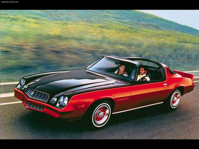 Spitfire would drive a 1975 Chevrolet Camaro. What would Soarin have?