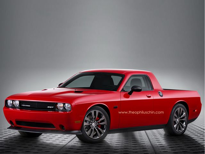 Sugar Belle would drive a custom Dodge Challenger. It seems that Dodge has finally made their version