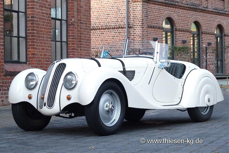 Sweetie Belle would drive a 1937 BMW 328 Sport Roadster. What would Applebloom have?