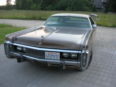 Shining Armor would drive a 1973 Chrysler Imperial. What would Cadence have?