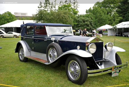 Luna would have a 1930 Rolls Royce Phantom I. Springfield. What would Celestia have?