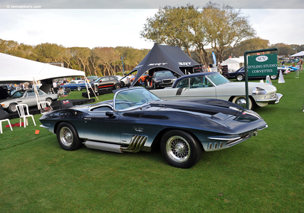 Fancy Pants would have a 1961 Chevrolet Corvette Mako Shark. What would Fleur De Lis have?