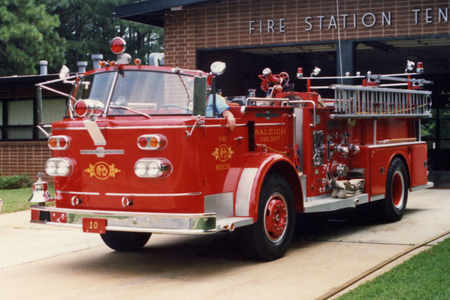 Lyra would drive this 1968 American LaFrance firetruck. What would Cheerilee have?