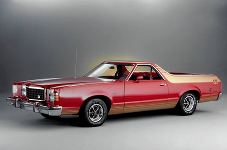 Roseluck would drive a 1979 Ford Ranchero GT. What would Sugar Belle have?