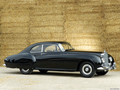 Silverspoon would drive a 1955 Bentley R-type Continental Fastback. What would Babs Seed have?