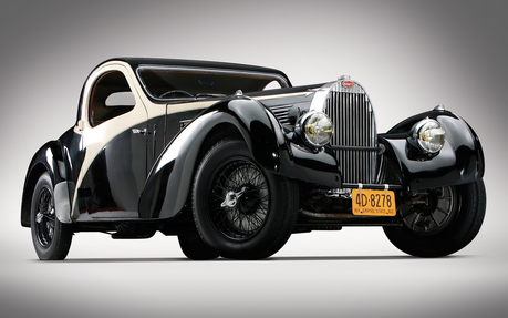 Princess Luna would drive a 1938 Bugatti Type 57C Atalante. What would Dr. Whooves have?