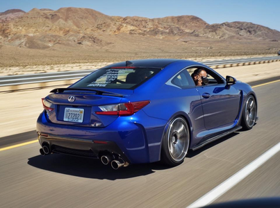 Blossomforth would drive a 2015 Lexus RC. What would Aloe have?