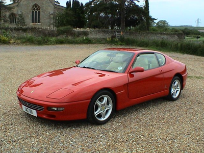 Lotus would drive a 1995 Ferrari 456GT. What would noteworthy have?