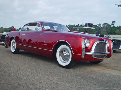 daisy would drive a 1953 Chrysler GS-1 Ghia Coupe. What would Colgate have?
